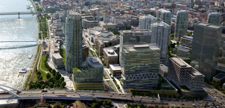 Pri Eurovei rastie bratislavský Pudong 47719b6925d